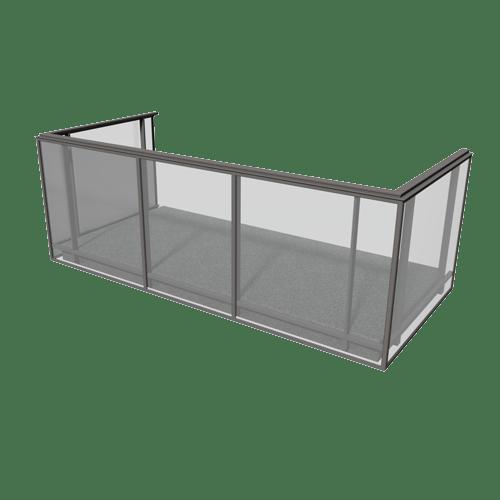 Produktbild Glas i ram räcke 1100