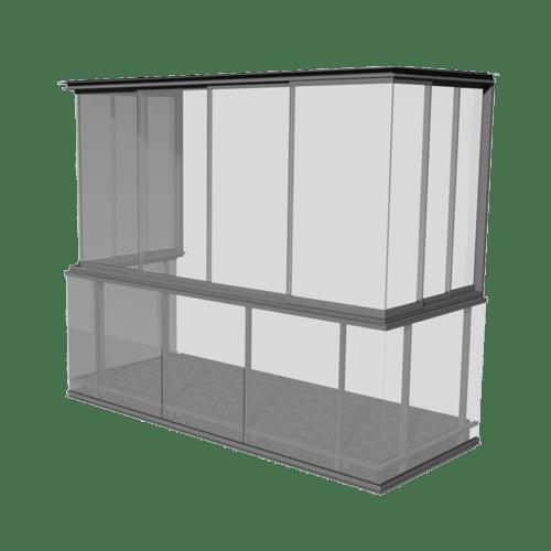 Produktbild skjutsystem utan ram